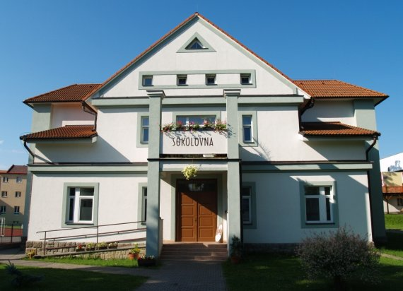 Culture facilities of the town Počátky
